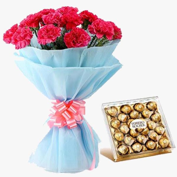 Chocolicious Carnations