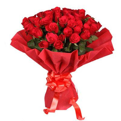 40 Red Rose Bunch
