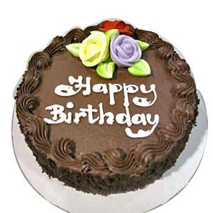 Birthday Chocolate Truffle Cake - 1KG