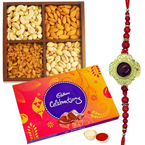 Perfect Rakhi Combo 2 pcs rakhi (can be customise according to you )