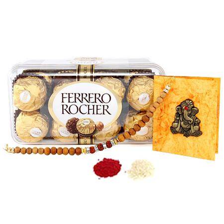 Ferrero Rocher with Rakhi