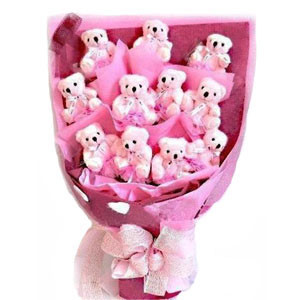 Special Teddy Bouquet