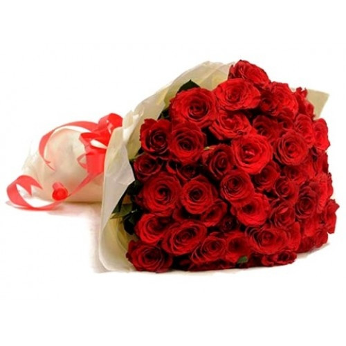 First Love 50 Red Roses Bunch