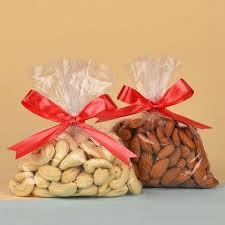 250gms almond n cashewnut each
