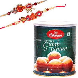 Rakhi with Haldiram's Sweets