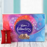 Rakhi and cadbury celebrations