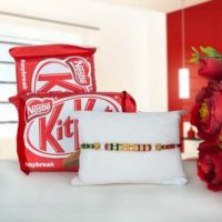 Rakhi with Kitkat chocolate