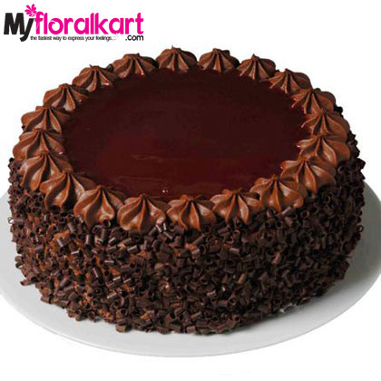 Chocolate Truffle Cake For Choco Lovers