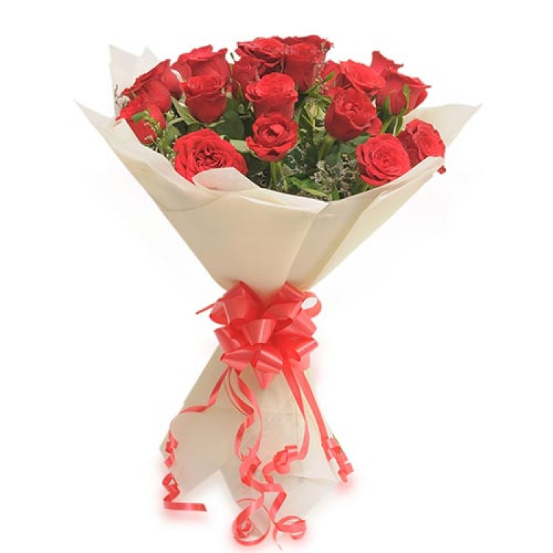20 Red Roses Bouquet