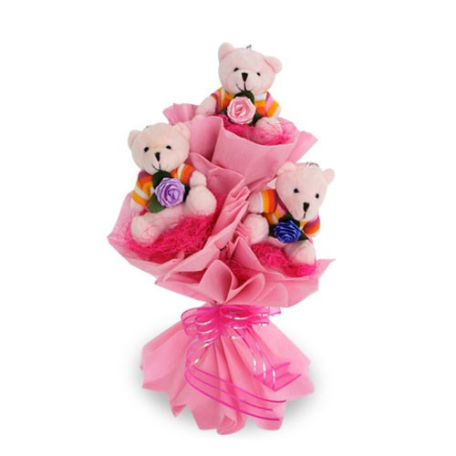 Stunning Teddy Bouquet