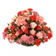 Basket of 24 Mix Flowers