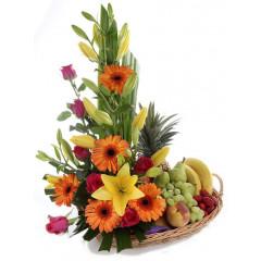 Flower and Fruits Basket