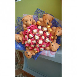 Themed Ferrero Rocher Bouquet