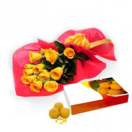 Yellow Rose N Motichur