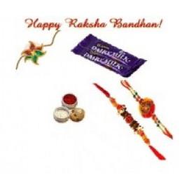 2 Chocolates N 2 Rakhi