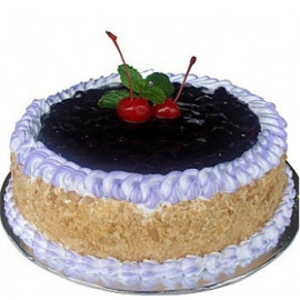 1 KG Eggless Blueberry Cake