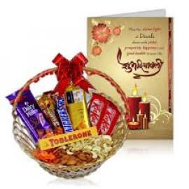 Diwali Greeting with Chocolates