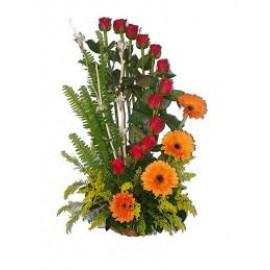 Roses N Gerberas
