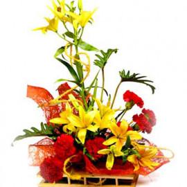 Lilies Basket