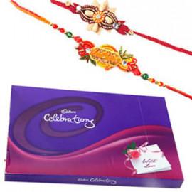 Rakhi with Celebration Pack