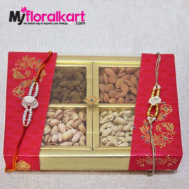 A beautiful wrap of dry fruits