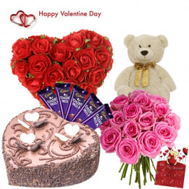 30 Red Heart hampers