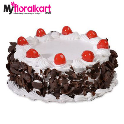 The Valentine Black Forest Cake