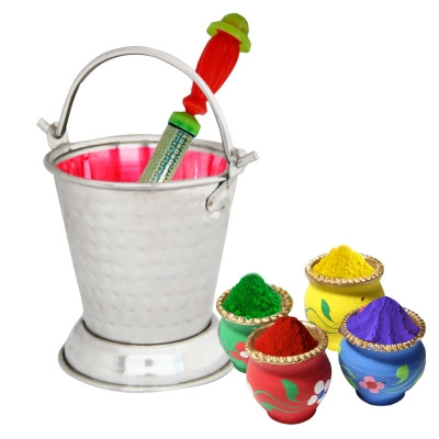 Colors With Bucket Holi Hamper