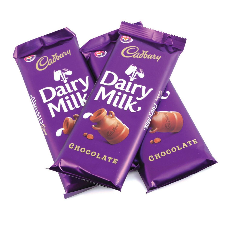 Dairy milk chcolate 13gms each