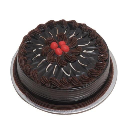 Eggless Truffle Cake - Half KG