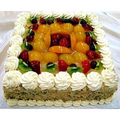 Overloaded Fruit cake 1kg