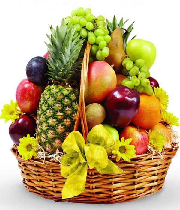 Imported fruit basket