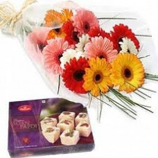 Flowers with Sweets