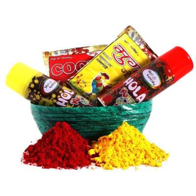 Holi Sprays & Color Hamper