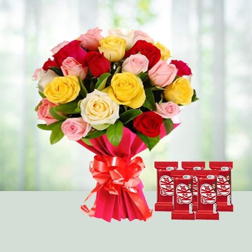 Mix Roses n Kitkat