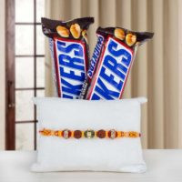 Rakhi with Snickers Chocolate
